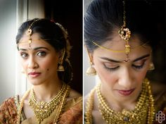Chandana's traditional South Indian style jewelry