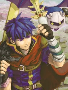 Ike (Fire Emblem) and Meta Knight (Kirby) - Super Smash Bros. Brawl #SSBB