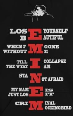 Eminem M&m, Eminem Tattoo, Eminem Funny, Eminem Quotes, Shady Quotes, Mood Quotes, Bruce Lee, Eminem Videos, Bob Marley