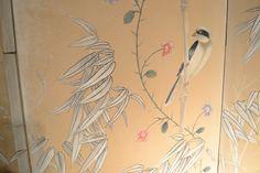 2638 – Gracie Type Wallpaper Screen   Robert J Riesberg Antiques Inc
