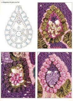 free form crochet different pattern