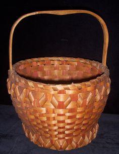 antique micmac baskets