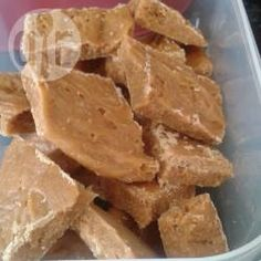 Recipe photo: Never fails Scottish tablet