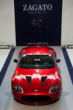 Aston Martin V12 Zagato. I swear, Aston Märtin will never make an ugly car.