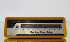 Grandmas Kitchen Gadget Recipe Calculator by 777VintageStreet