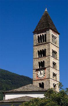 Poschiavo-San-Vittore-Mauro    wikipedia Lake Geneva, Kirchen, Homeland, Switzerland, Places To Visit, San, Country, World, Building