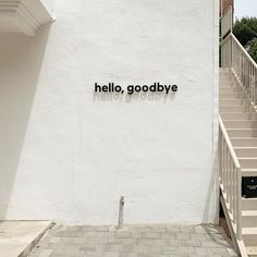 Photo by LULA - BEAUTY TIPS on May Image may contain: outdoor, text that says 'hello, goodbye' via Font Design, Signage Design, Cafe Design, Store Design, Graphic Design, Wayfinding Signage, Environmental Graphics, Aesthetic Pictures, Aesthetic Photo