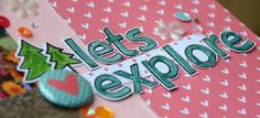 the Lawn Fawn blog: Let's Explore by May