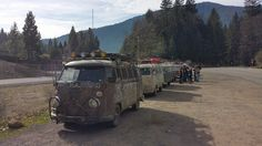 we got us a convoy ☮ #VWBus #volkswagen bus pinned by  http://www.wfpblogs.com/author/thomas/