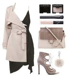 """Nude mood"" by baludna ❤ liked on Polyvore featuring Zimmermann, Chloé, NARS Cosmetics and Fendi"