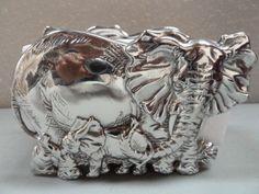 Arthur Court Designs Elephant Napkin Holder Brand New In Box