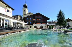Hotel Post in Saalbach, in the heart of Glemmtal valley