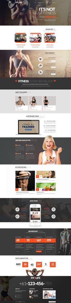 35 Fitness Website Designs | Inspiration #5