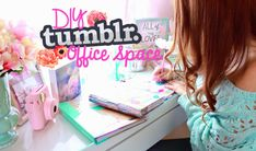 #PlanningWithBelinda Giveaway! DIY Tumblr Inspired Office/Desk Space