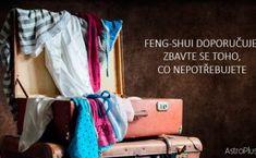 Feng-shui doporučuje: Zbavte se toho, co nepotřebujete Feng Shui, Wardrobe Rack, Diy And Crafts, Interior Decorating, Karma, Creative Ideas, Furniture, Home Decor, Tips