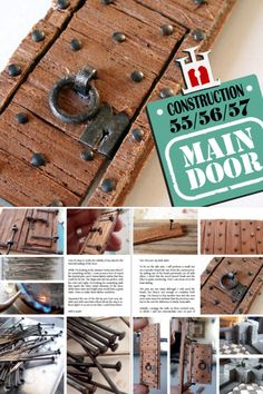 Construction Materials, Miniatures, Projects, Mini Things, Mockup, Tile Projects