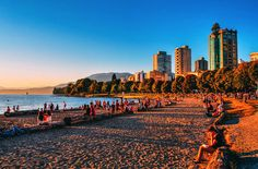 You might have heard, Canada is celebrating its birthday in and you're invited to the party. Our Vancouver itinerary could be the perfect way to celebrate Canada's anniversary! Vancouver Beach, Vancouver Travel, Vancouver British Columbia, Vancouver Island, Downtown Vancouver, Seattle, Ottawa, Quebec, Montreal