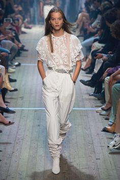 4a02b00d2a5 Isabel Marant Spring 2019 Ready-to-Wear Fashion Show Collection  See the  complete