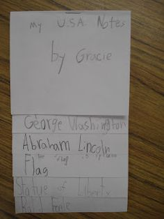 Forever in First: How First Graders Take Notes