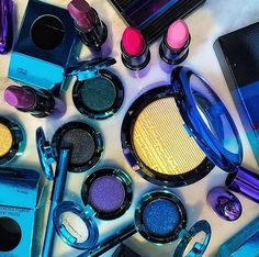 MAC COSMETICS Holiday 2015 collection - Magic of the Night - limited edition metallic packaging! -makeup.