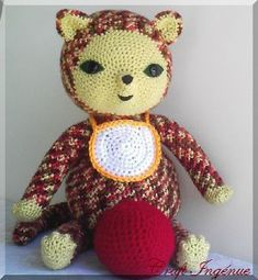Pot Belly Baby Calico by Craft Ingénue, via Flickr