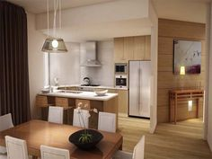 contemporary kitchen wood cabinets interior designs for your home