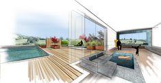 HAUS C | Mayr & Glatzl Innenarchitektur GmbH Loft House, Architecture, Outdoor Decor, Planner Stickers, Home Decor, Interiors, Blog, Etsy, Drawing Drawing