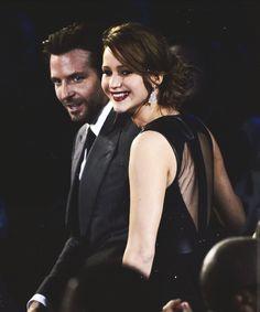 Bradley Cooper + Jennifer Lawrence.