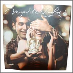 Greet your dear one by gifting this beautiful Archies Magic of our Love Book
