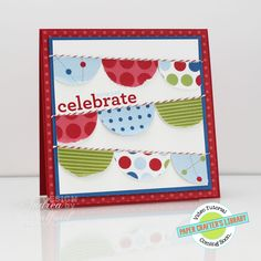 Banner Birthday Stampin' Up! Card by Andrea Walford