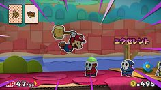 Paper Mario: Color Splash - Japanese screens
