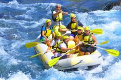 Rafting Antalya in Turkey from the best and safest course is located in Canyonlands. Köprülü Canyon is a river that starts in the Sütçüler district of Isparta and pours into the sea in Antalya and is suitable for rafting. Rafting Tour, Turu, Antalya, Jeep, River, Outdoor Decor, Jeeps, Rivers