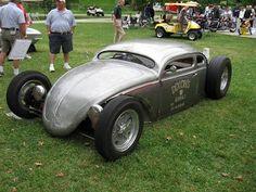 Top chop VW beetle rod