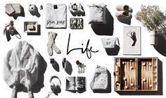 life holiday gift board white garance dore still life layout photos