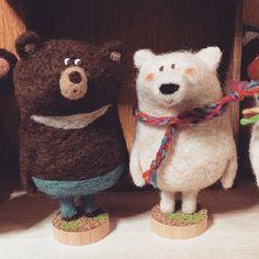 近年來製作羊毛氈的風氣非常盛行!想到羊毛氈作品,大部分都是以擬真、軟萌的可愛風格為主呢~今天妞編輯要來介紹的日本羊毛氈藝