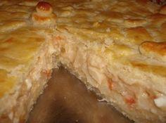 Torta Cremosa de Palmito - Veja mais em: http://www.cybercook.com.br/receita-de-torta-cremosa-de-palmito.html?codigo=115507