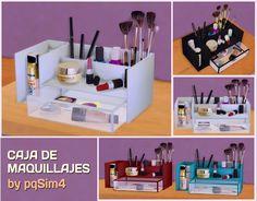 Sims 4. Caja de Maquillajes. ~ pqSim4