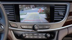 Photo showing Rear Cross Traffic Alert technology available in the 2017 Buick LaCrosse full-size luxury sedan. 2017 Buick Lacrosse, Engineering, Parking Space, Luxury, Vehicles, Technology, Tecnologia, Tech, Car