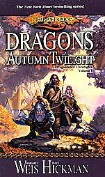 The Dragonlance chronicles trilogy is awesome.  The characters all felt so real to me after getting into this series.  It's one of the few fantasy books that was somewhat believable as far as characters go.