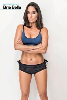 Brie Bella looks Amazing with short hair