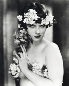 Louise Brooks  Unforgettable Vintage Brides www.VintageBridalGowns.co.uk