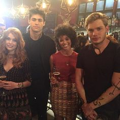 Behind the scenes from the #ShadowhuntersSeason2 finale. What was your favorite Season 2 moment?