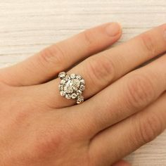 vintage engagement rings :)