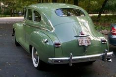Learn more about BaT Exclusive: 1947 Plymouth Special Deluxe on Bring a Trailer, the home of the best vintage and classic cars online. Car Volkswagen, Vw Cars, Vintage Cars, Antique Cars, Vintage Signs, Car Tv Shows, Chrysler Cars, Chrysler Usa, Desoto Cars