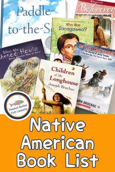 Native American Historical Fiction and Biographies - peanut butter fish lessons