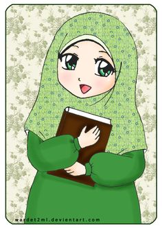 Light of hijab 2 by on DeviantArt Islamic Art Pattern, Pattern Art, Art Drawings For Kids, Cute Drawings, Emoji People, Islamic Cartoon, Anime Muslim, Islam For Kids, School Images