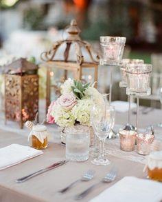 Classic outdoor wedding pink & cream