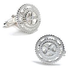 I would love to have these cycling cufflinks!