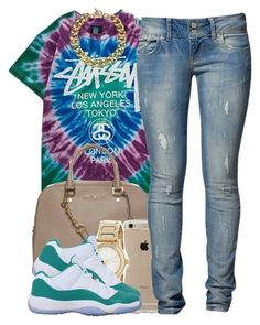 """""""62616"""" by polyvoreitems5 ❤ liked on Polyvore featuring Stussy, MICHAEL Michael Kors, Speck, DKNY, NIKE, LTB by Little Big and Michael Kors"""