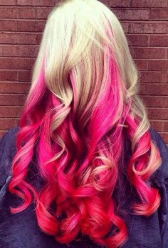 Strand together for strength home buy pink hair extensions now blonde pink hair pmusecretfo Choice Image